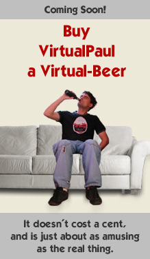 Buy VirtualPaul a Virtual-Beer!
