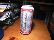 The Can of Budweiser that kicked off a night of dissappointment and ... un... re-appointment. (I guess that doesn&#146e make much sense)