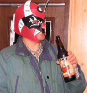 You can&#146t have a good weekend without the occasional appearance of a Mexican wrestling mask, now can you?
