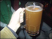 On St. Patrick&#146s day, this is the small beer. You should have seen the large!