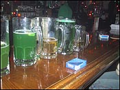 What good is a st. patricks day celebration unless your beer is green?
