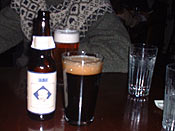 The Bell&#146s Kalamazoo Stout that Kelly bought for me at cafe Barbette